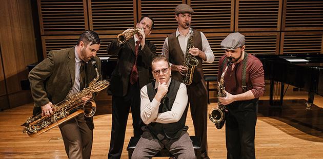 Adelaide Cabaret Festival Peter Coleman-Wright Nexus Quartet Composers in Exile
