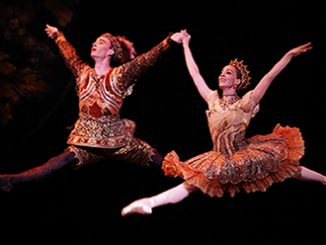 The Australian Ballet NUTCRACKER Jarryd Madden and Leanne Stojmenov - photo Jeff Busby