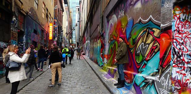 The Conversation Hosier Lane Bernard Spragg