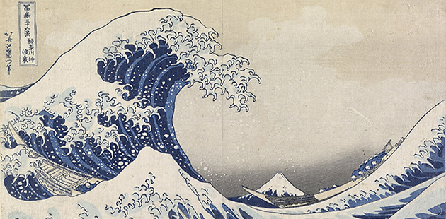 NGV Hokusai The great wave off Kanagawa c. 1830