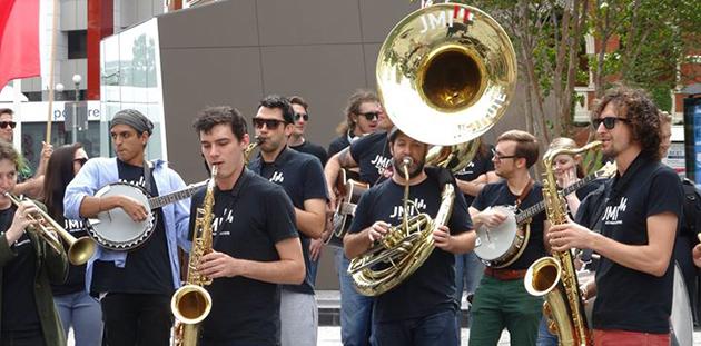 QMF JMI New Orleans Street Parade