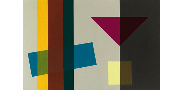 Ralph Balson, Constructive Painting 1963 - photo by John Brash
