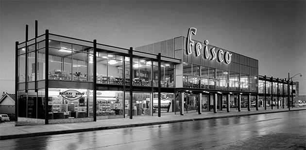 SLM Friscoe furniture store Punchbowl 1963 (c) Max Dupain Archives, State Library of NSW
