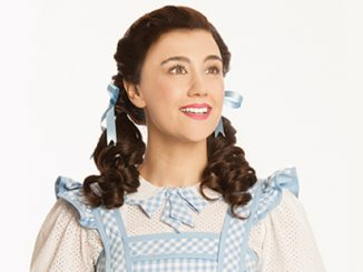 Samantha Leigh Dodemaide as Dorothy in THE WIZARD OF OZ - photo by Brian Geach