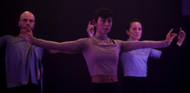 Arts House Melanie Lane Nightdance - photo by Jody Hutchinson