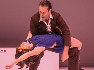 Blue Love Shaun Parker and Lucia Mastrantone - photo by David James McCarthy
