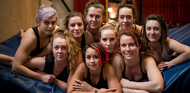 Circus Oz Strong Women - photo by Tania Jovanovic