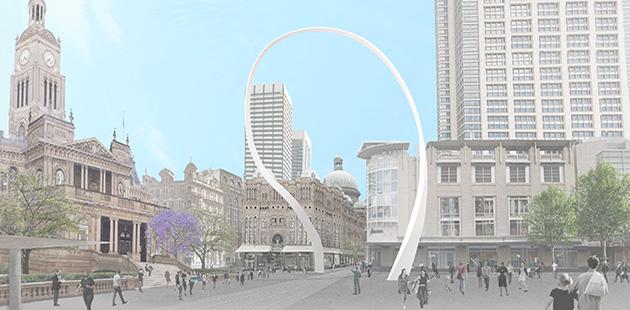 City of Sydney Cloud Arch