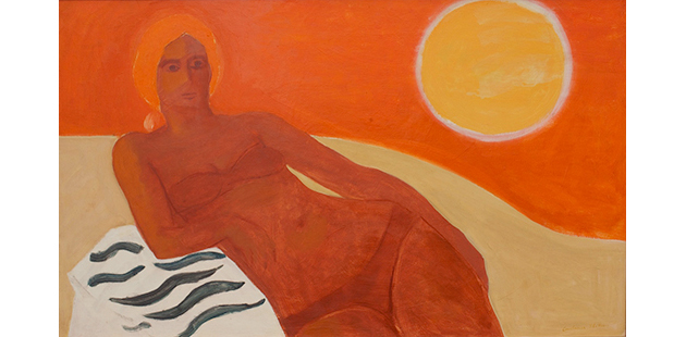 MPRG Constance Stokes, Sunbather, 1980s