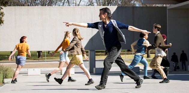 Australian Dance Party Weave, hustle and halt- photo byLorna Sim