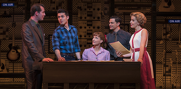 Beautiful The Carole King Musical - photo by Joan Marcus