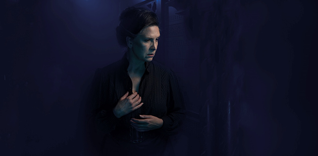 Pamela Rabe stars as Helene Alving in Ghosts - photo by Daniel Boud