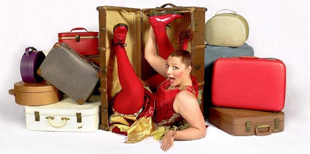 Hazel Bock Hazel's Circus Suitcase