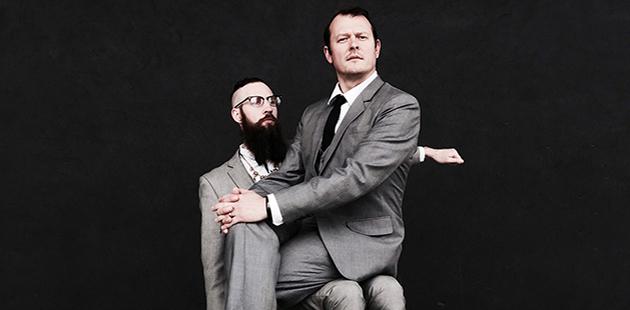 MKA Tobias Manderson-Galvin and Dr Tom Payne - photo by Wilson Liew