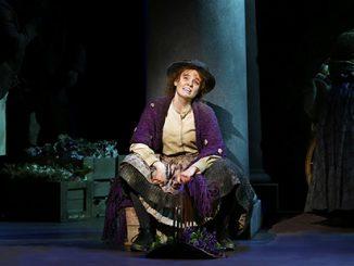 My Fair Lady Anna O'Byrne as Eliza Doolittle - photo by Jeff Busby