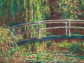 AGSA Claude Monet, The Water Lilies Pond, pink harmony