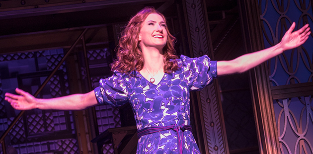 Beautiful - The Carole King Musical Esther Hannaford as Carole King - photo Joan Marcus