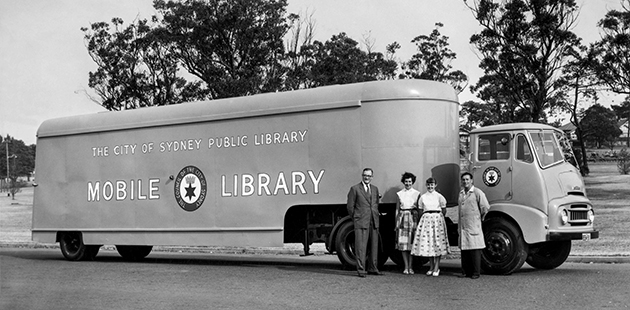 City of Sydney Mobile Library 1957