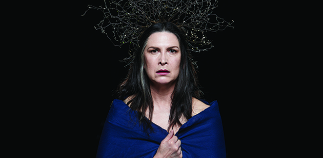 Malthouse Theatre The Testament of Mary Pamela Rabe - photo by Zan Wimberley