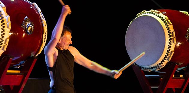 TaikOz Ian Cleworth - photo by Matt Devlin