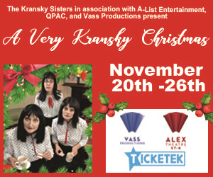 The Alex Theatre A Very Kransky Christmas OCT_NOV 2017