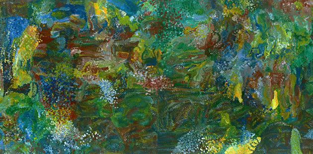 Emily Kame Kngwarreye Earth's Creation I, 1994 (detail)
