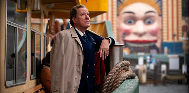Eye of the Storn Geoffrey Rush as Basil Hunter (detail) - photo by Matt Nettheim Courtesy of TEOS Productions and National Film and Sound Archive of Australia