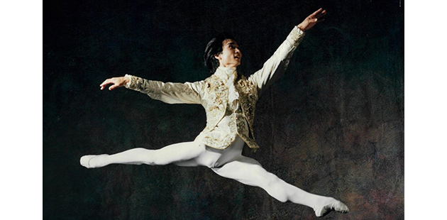 Li Cunxin Sleeping Beauty 1983 - photo courtesy of Houston Ballet