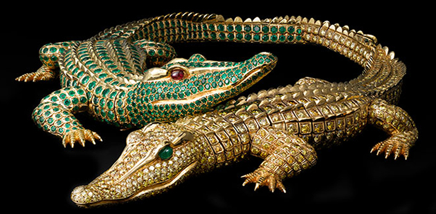NGA Crocodile necklace - photo by Vincent Wulveryck, Cartier Collection