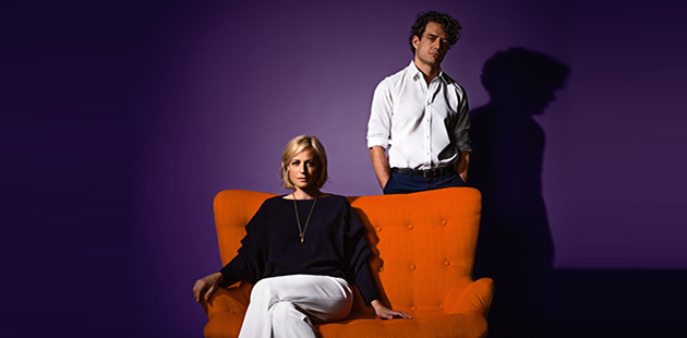 Queensland Theatre Scenes from a Marriage Marta Dusseldorp and Ben Winspear