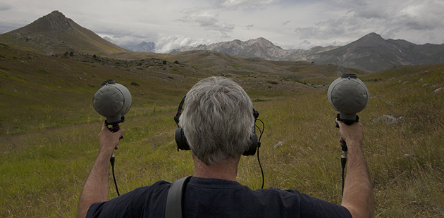 RMIT DH Super Field Gran Sasso - photo by Daniela d'Arielli