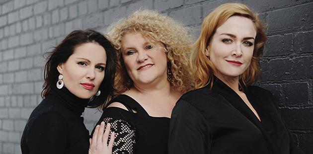 PMSF Cyrens Amanda Harrison, Melissa Langton and Chelsea Renton-Gibb