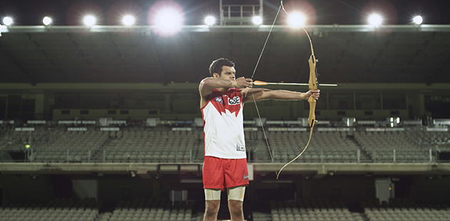 Shaun Gladwell, The archer (after Chuang Tzu) 2014