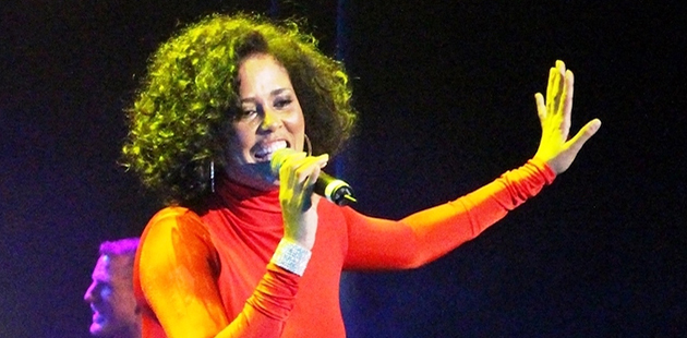 Belinda Davids as Whitney Houston