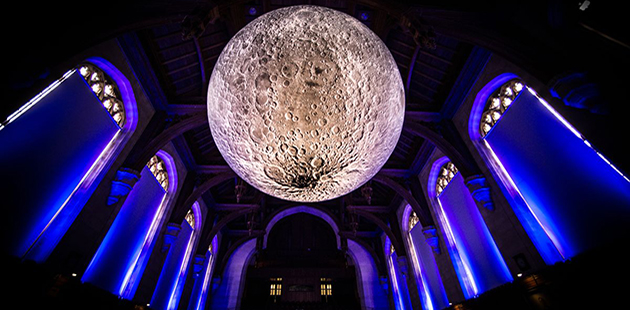 F18GC Museum of the Moon - Luke Jerram