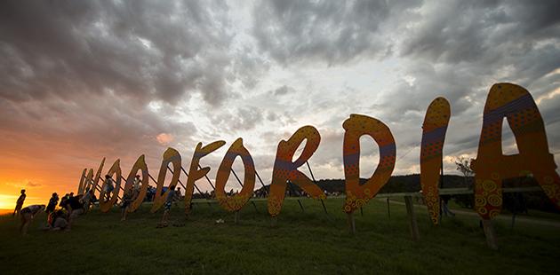 Woodfordia - photo courtesy of Woodford Folk Festival