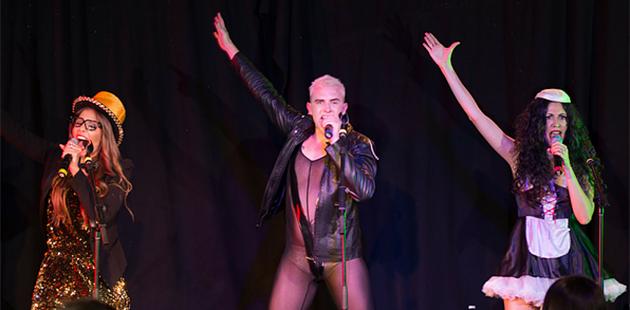 ADL Fringe Two Brunettes & A Gay - God Save The Queens!