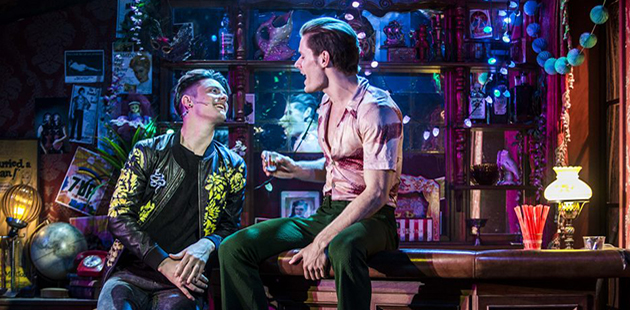 Hayes Theatre Co The View UpStairs Henry Brett and Stephen Madsen - photo by John McCrae