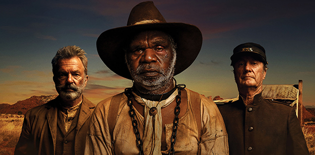 Sam Neill, Hamilton Morris and Bryan Brown star in Sweet Country - courtesy of Transmission Films
