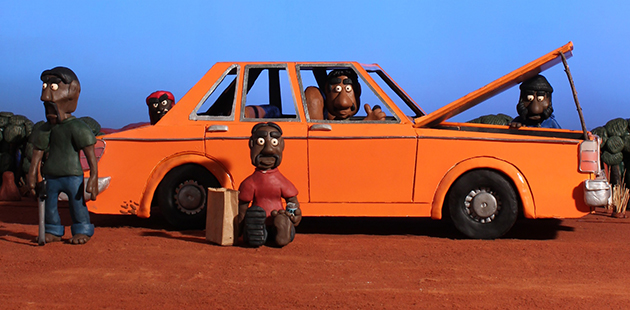 MV The Bush Mechanics claymation - courtesy of PAW Media
