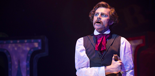 SOH David Campbell in Assassins - photo by Phil Erbacher