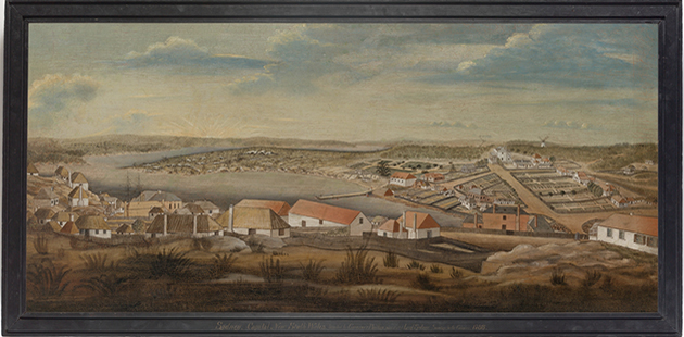 Sydney - Capital New South Wales, ca.1800_artist unknown - Mitchell Library, State Library of New South Wales