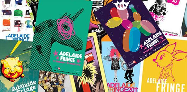 Adelaide Fringe Poster Compilation