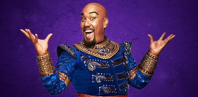 Disney Aladdin Gareth Jacobs as the Genie