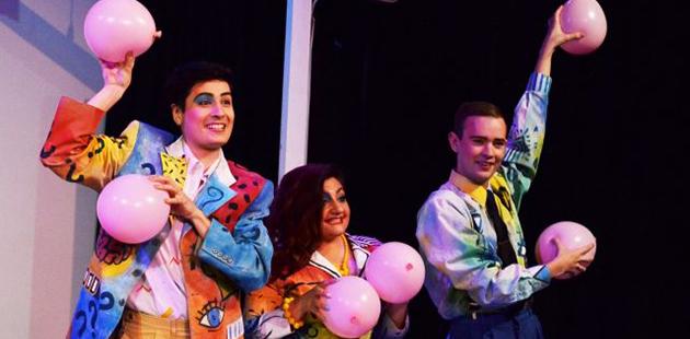 Lyric Opera Melbourne Les Mamelles de Tirésias - photo byRobert Alexander Smith