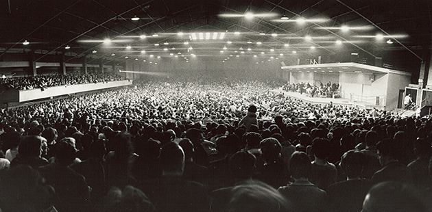 Festival Hall, University of Melbourne Archives - Stadiums Pty Ltd Collection AAR
