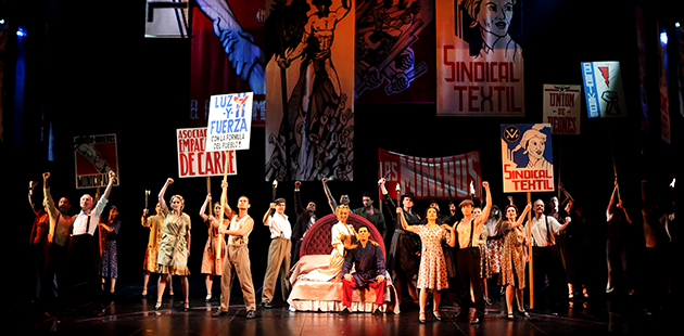 nternational Cast of EVITA - photo by Pat Bromilow-Downing and Christiaan Kotze