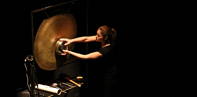 Louise Devenish music for percussion and electronics AAR
