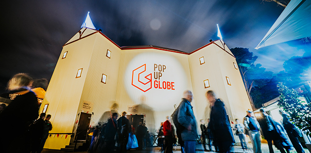 Pop Up Globe - photo by Jay Wennington AAR