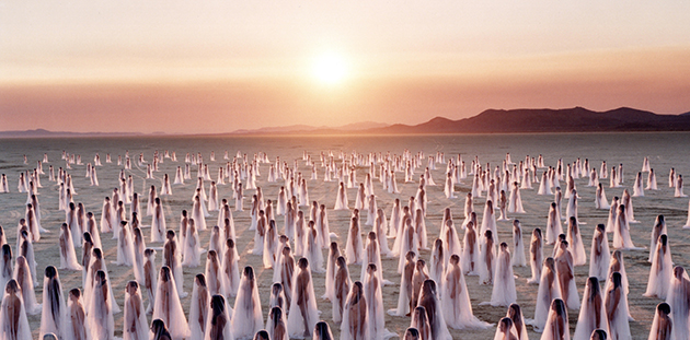 Spencer Tunick Desert Spirits 1.1 (Nevada) 2013